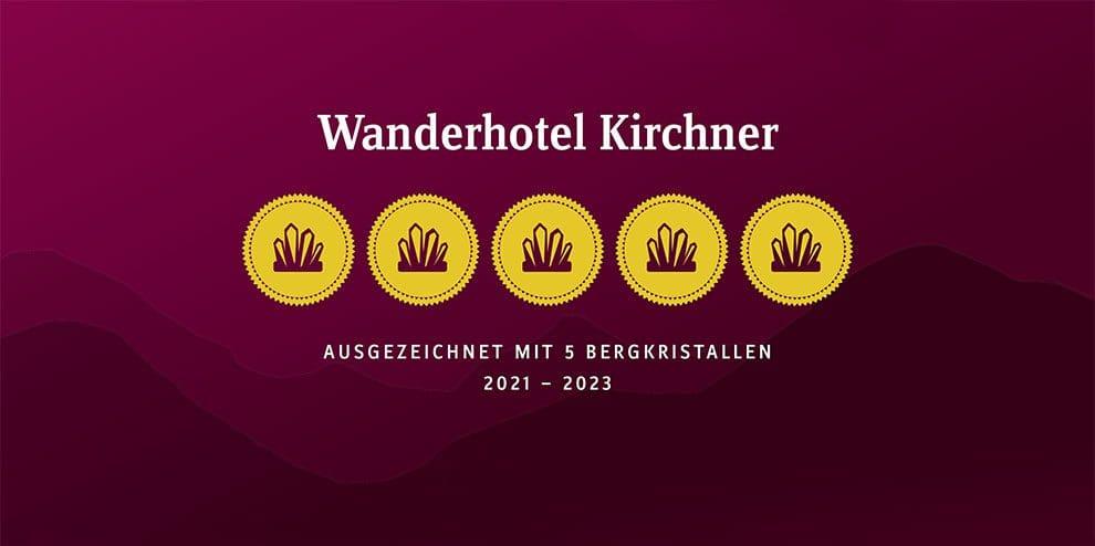 Auszeichnung - Wanderhotel