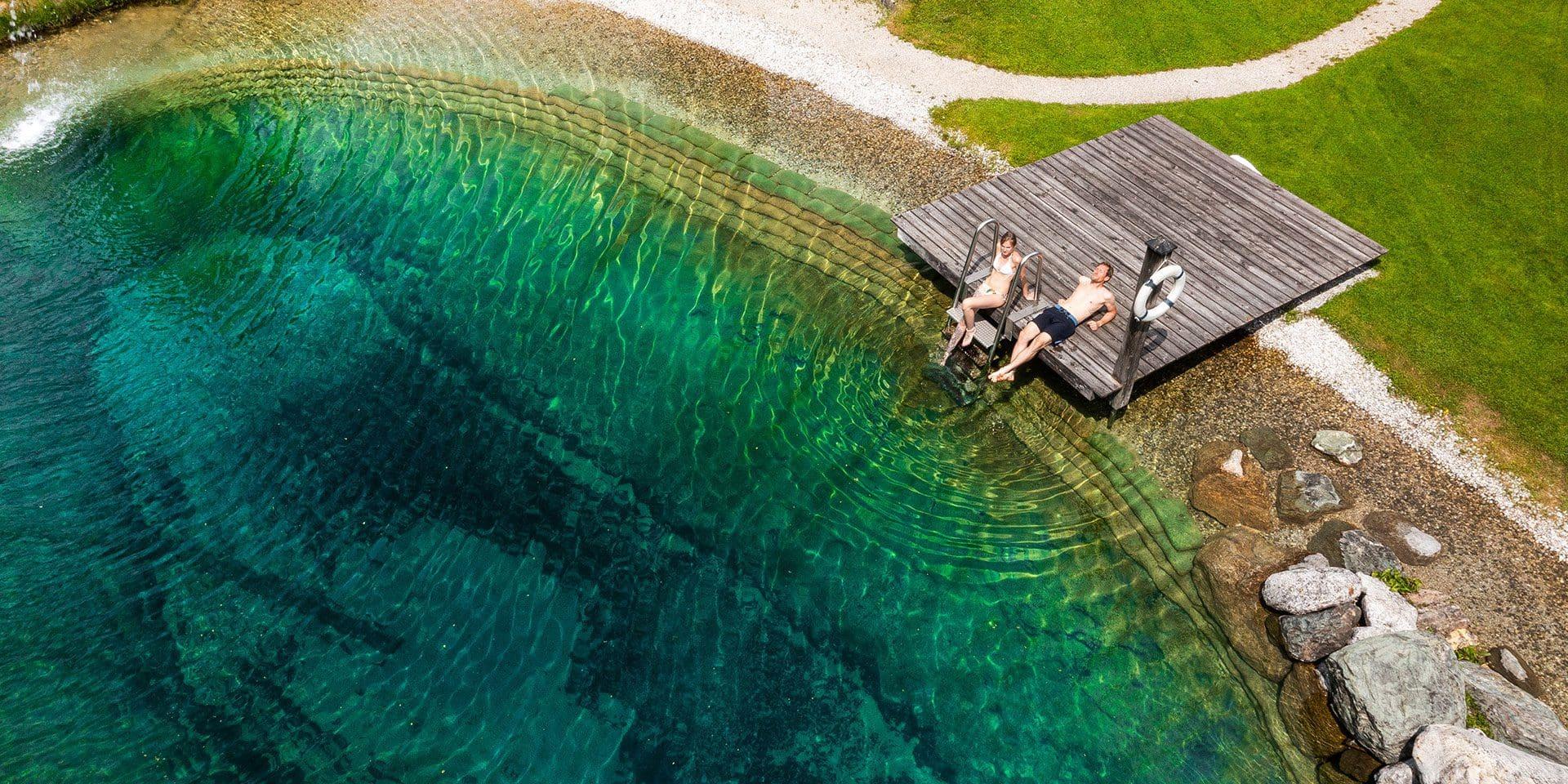 Badesee · Inklusivleistungen im Wanderhotel Kirchner, Kitzbüheler Alpen