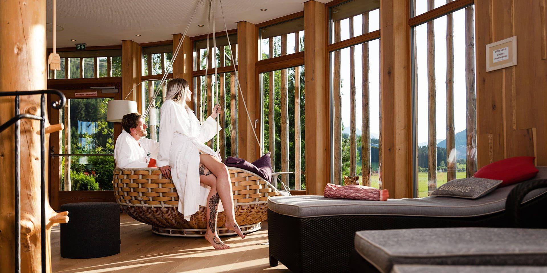 Baumhaus · Inklusivleistungen im Wanderhotel Kirchner, Kitzbüheler Alpen