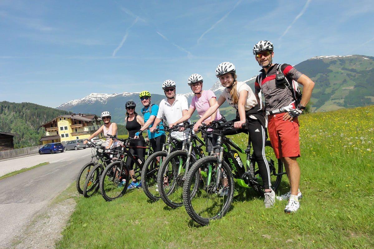 E-Bike-Tour - Aktivhotel in Österreich