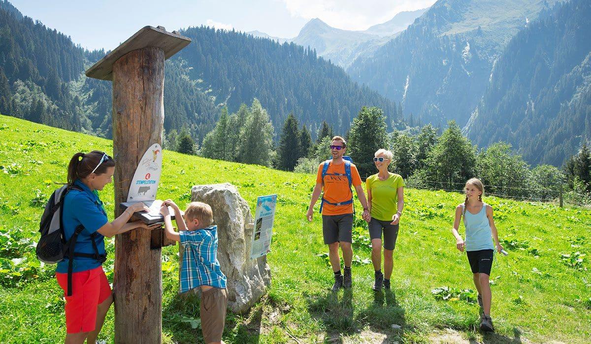 Familien-Wanderurlaub mit Kindern in Österreich