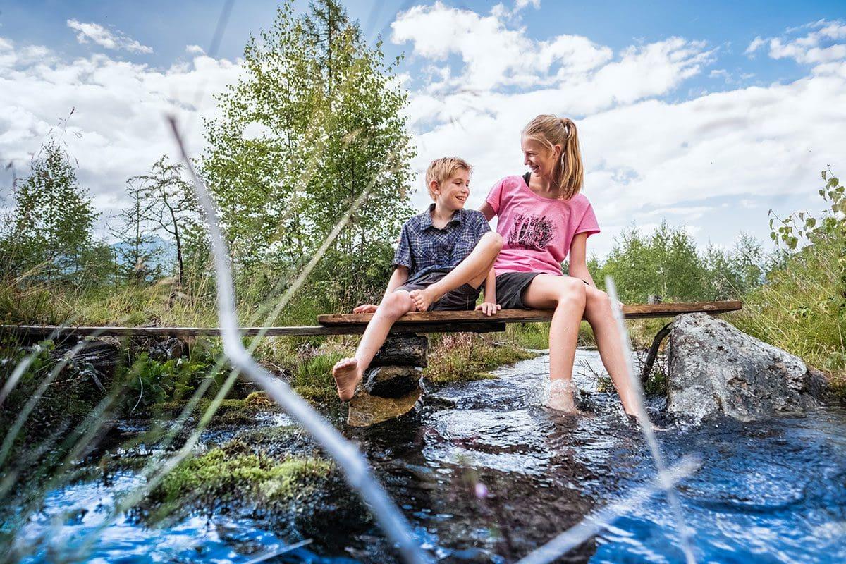 Familien-Wanderurlaub in Österreich, Wandern mit Kindern