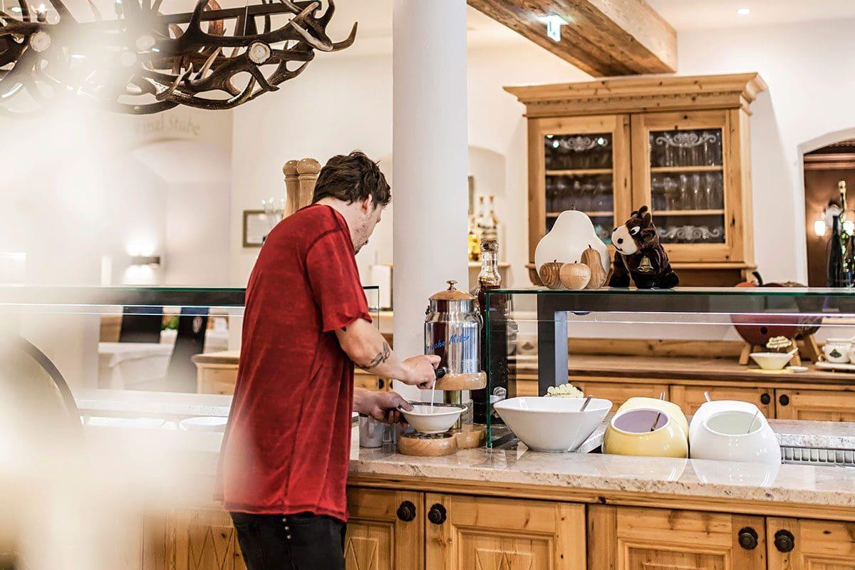 Frühstück - Wanderhotel Kirchner