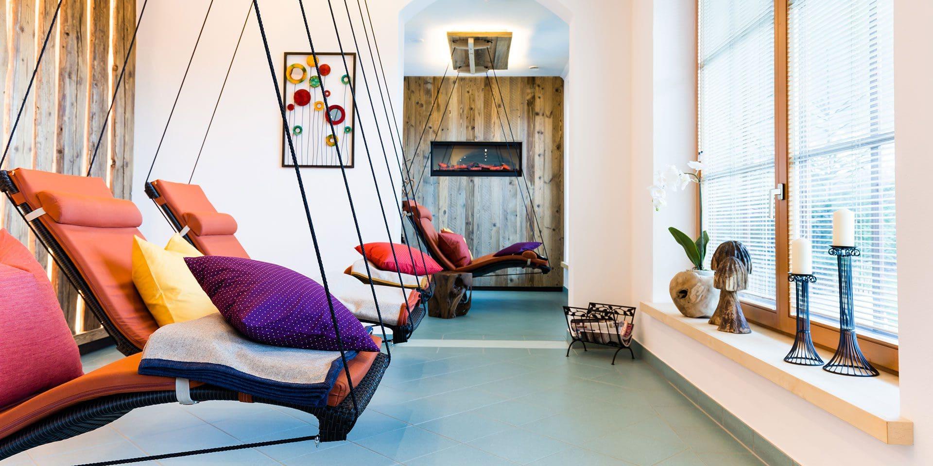 Indoor-Wellness · Inklusivleistungen im Wanderhotel Kirchner, Kitzbüheler Alpen