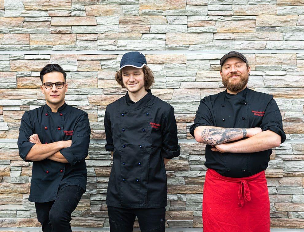 Küchen-Team, Wanderhotel