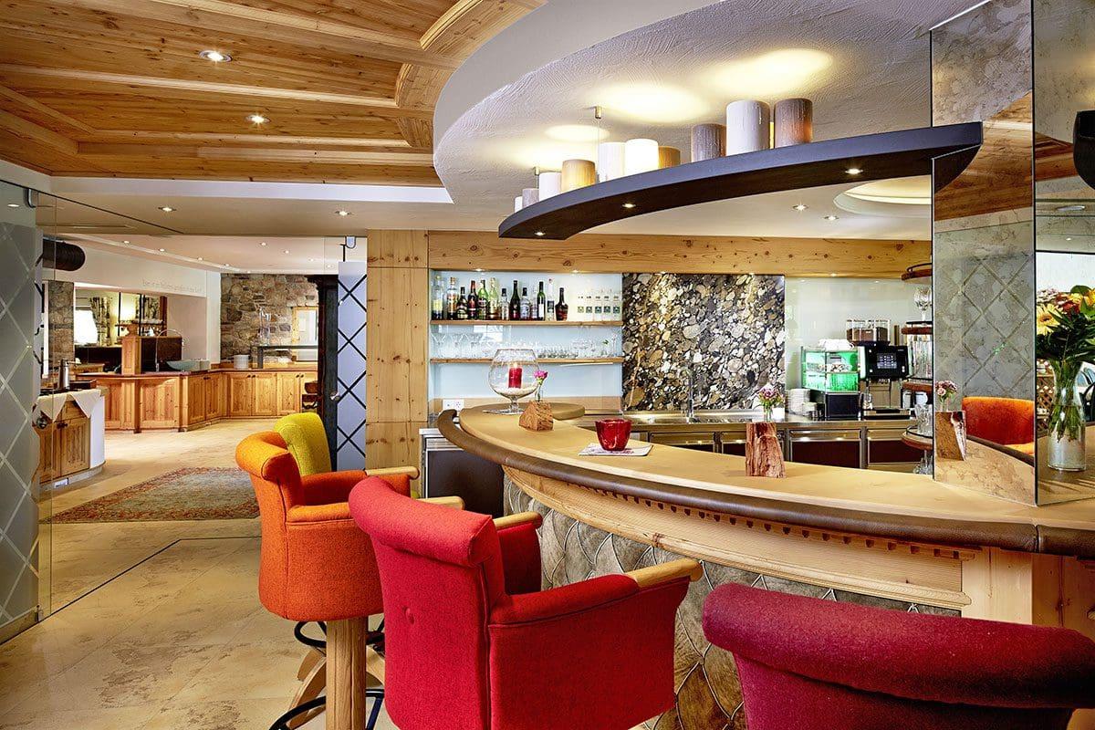 Bar im Wanderhotel Kirchner - Urlaub in den Kitzbüheler Alpen