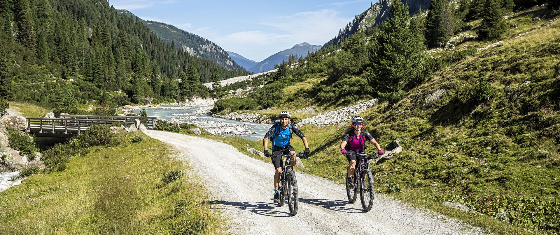 Mountainbike, E-Bike-Touren in der Urlaubsregion Wildkogel