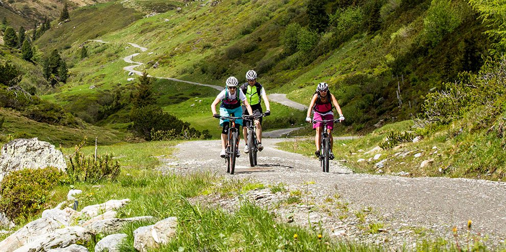 Mountainbiken & E-Biken in Österreich, Urlaubsregion Wildkogel