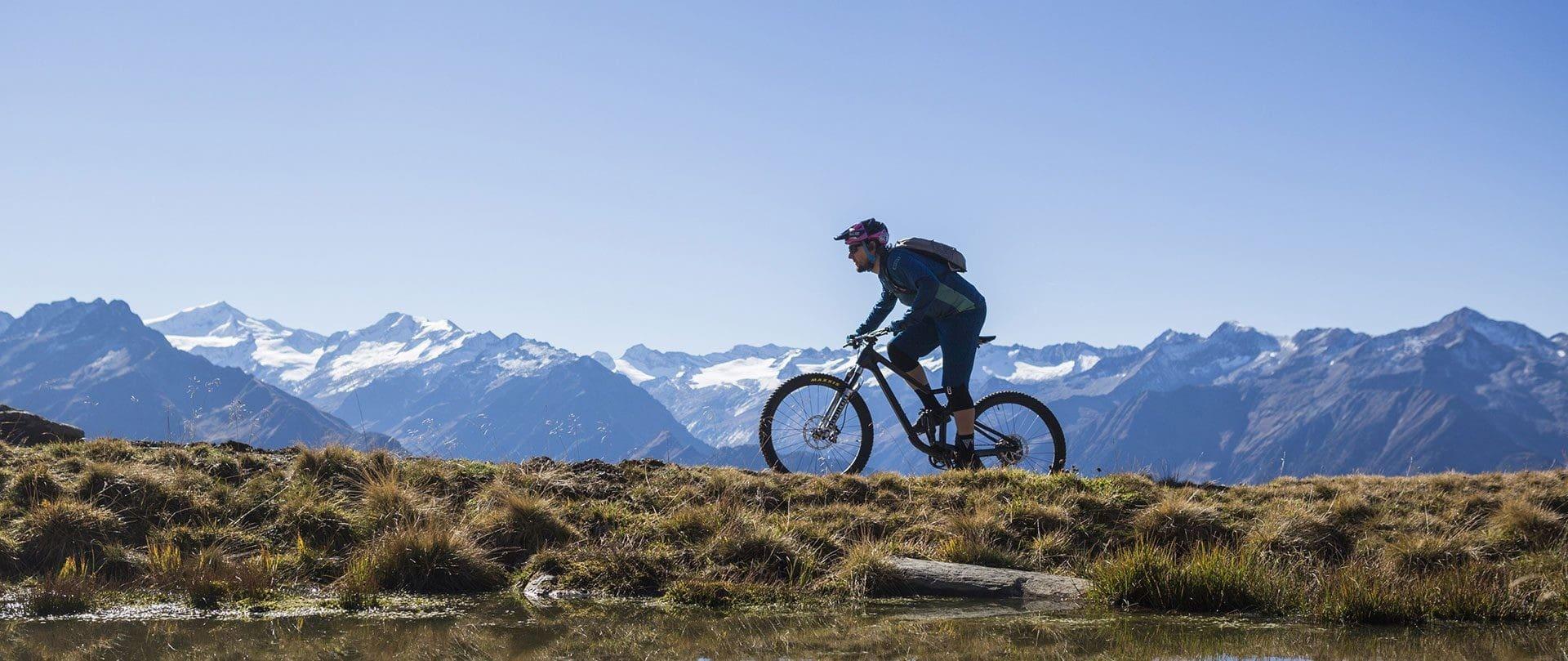Mountainbiken in Salzburg, Urlaubsregion Wildkogel