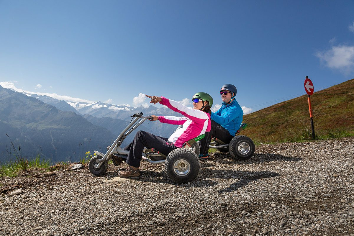 Mountaincart in Bramberg am Wildkogel