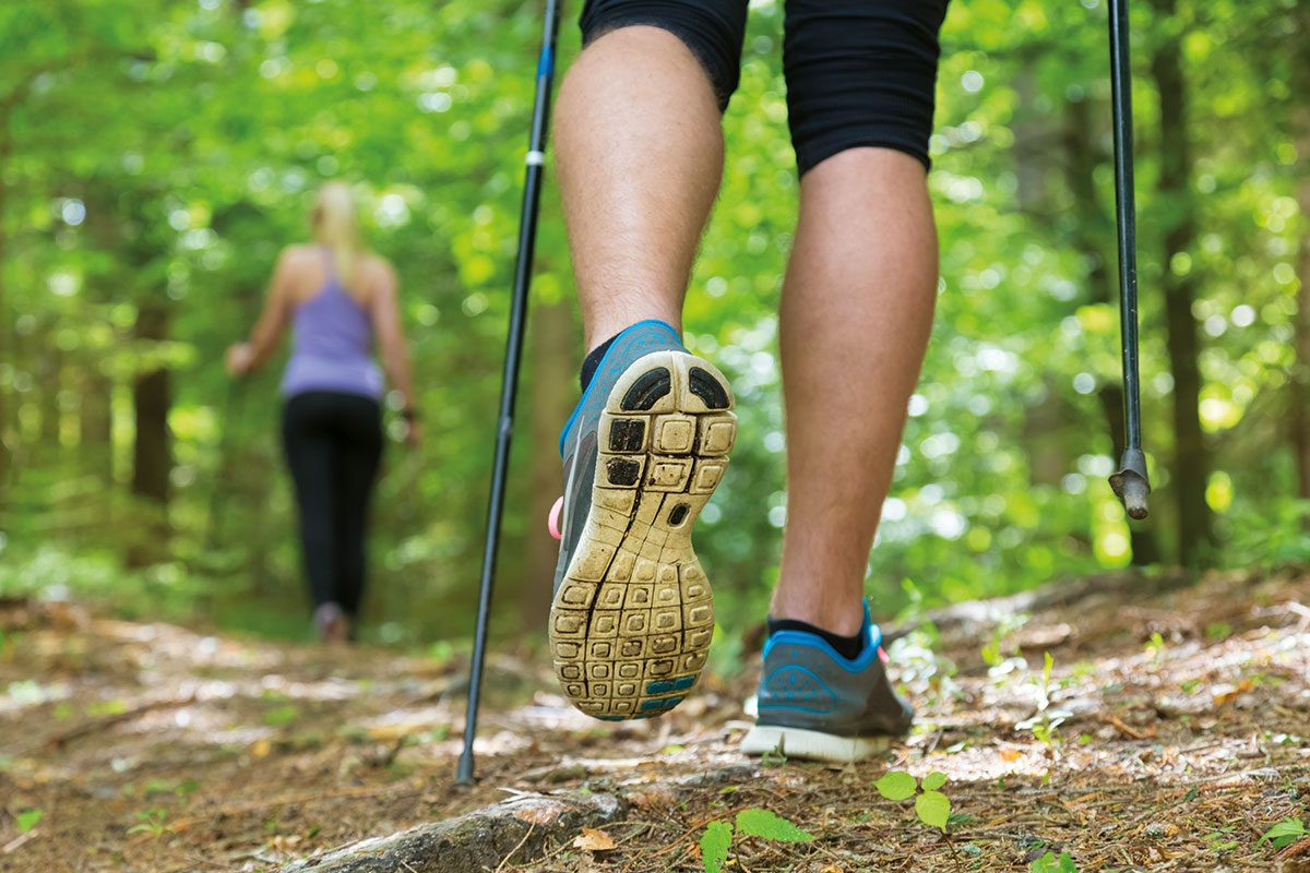 Nordic Walking, Urlaub in Bramberg/Wildkogel