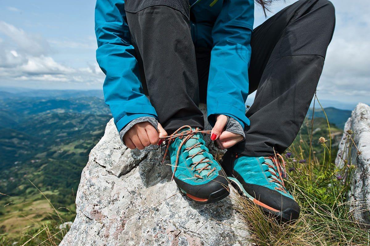 Richtige Schuhe zum Wandern