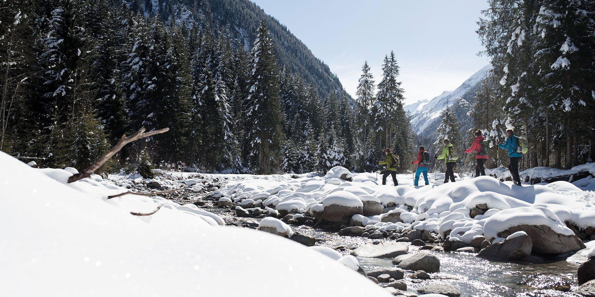 Schneeschuhwandern, Salzburg, Nationalpark Hohe Tauern
