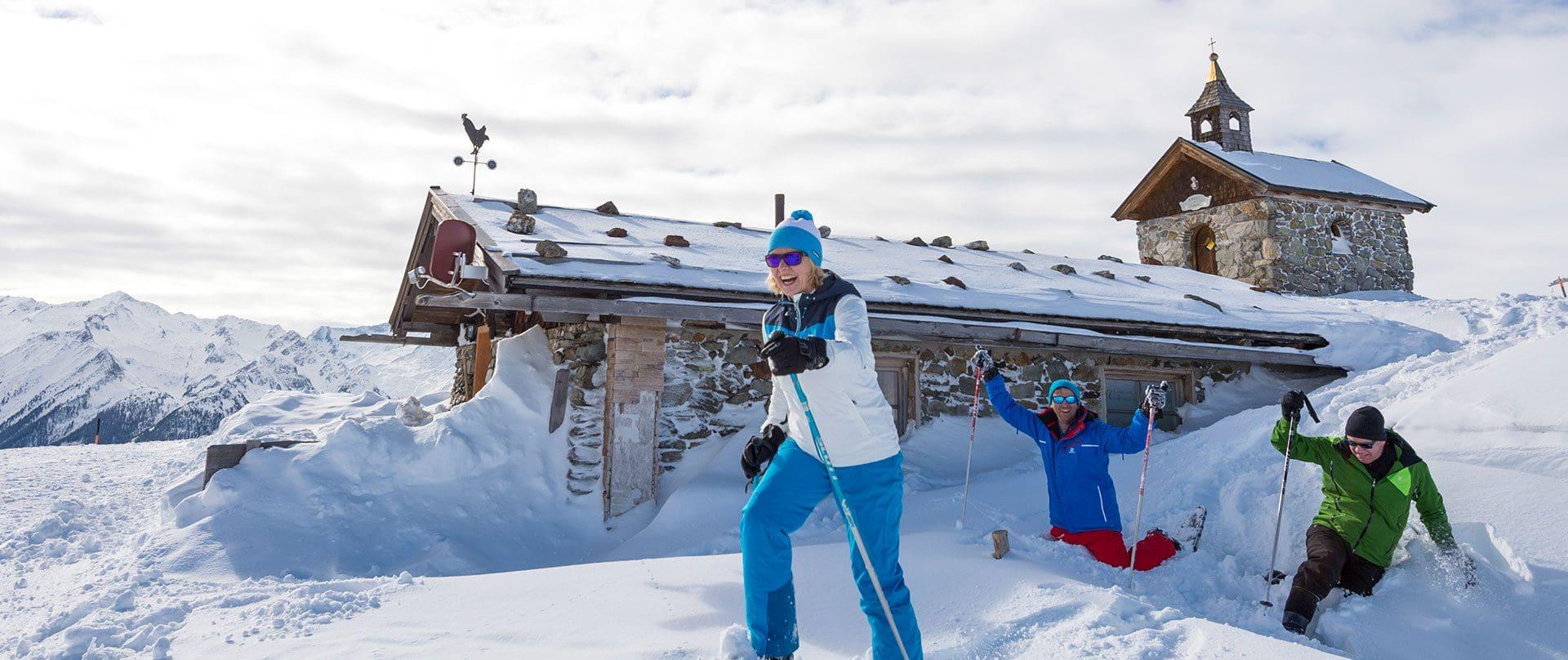 Schneeschuhwandern in Salzburg, Urlaubsregion Wildkogel