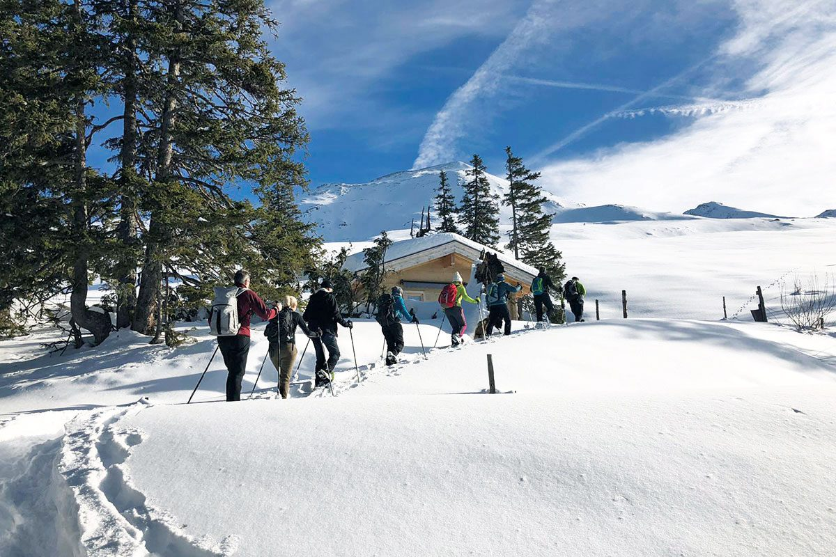 Schneeschuhwandern, Salzburg, Urlaubsregion Wildkogel