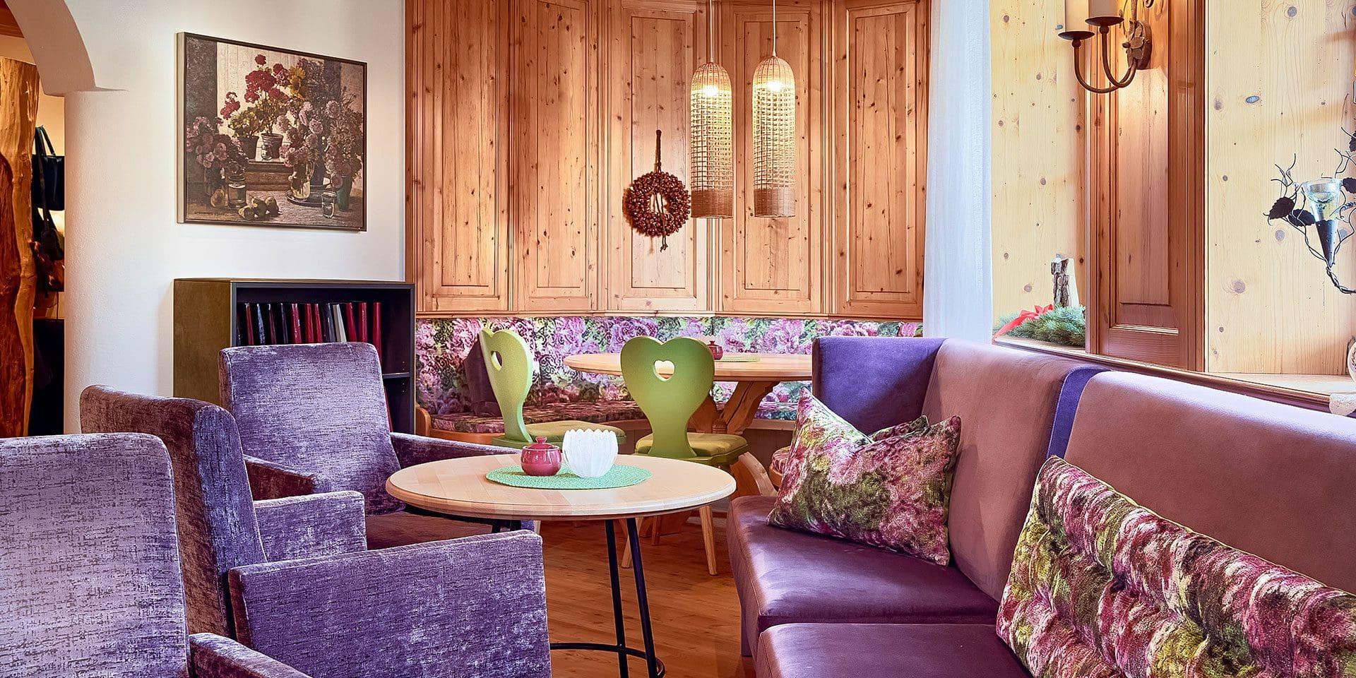 Stube · Inklusivleistungen im Wanderhotel Kirchner, Kitzbüheler Alpen