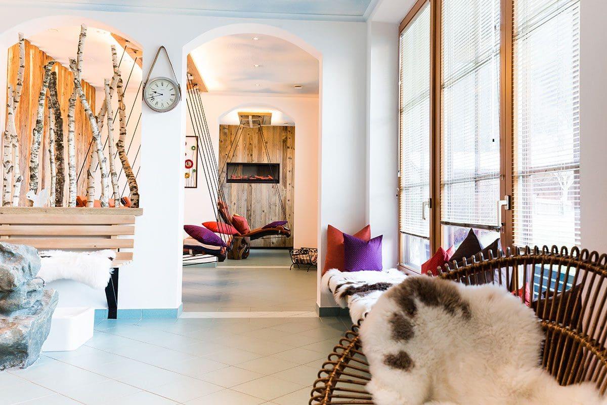 Wanderhotel Kirchner im Salzburger Land, Sauna und Dampfbad, Wellnessurlaub in Bramberg am Wildkogel