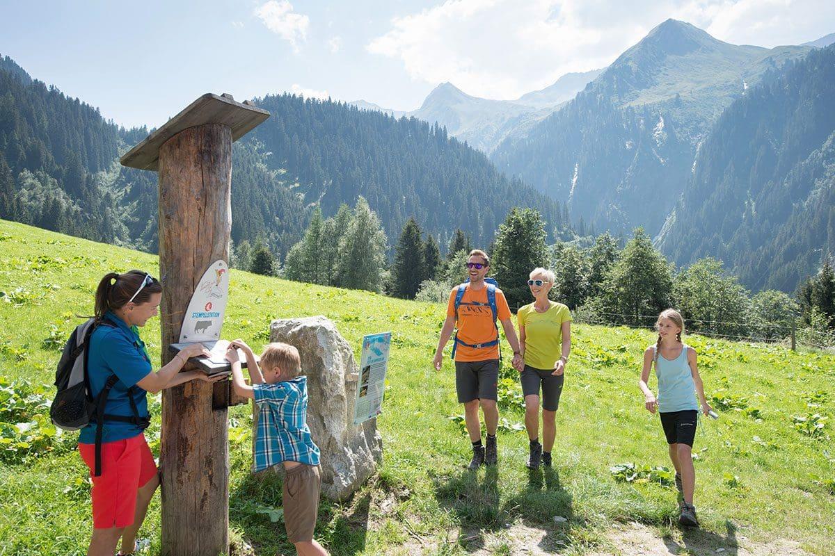 Wandern in der Urlaubsregion Wildkogel, Salzburg