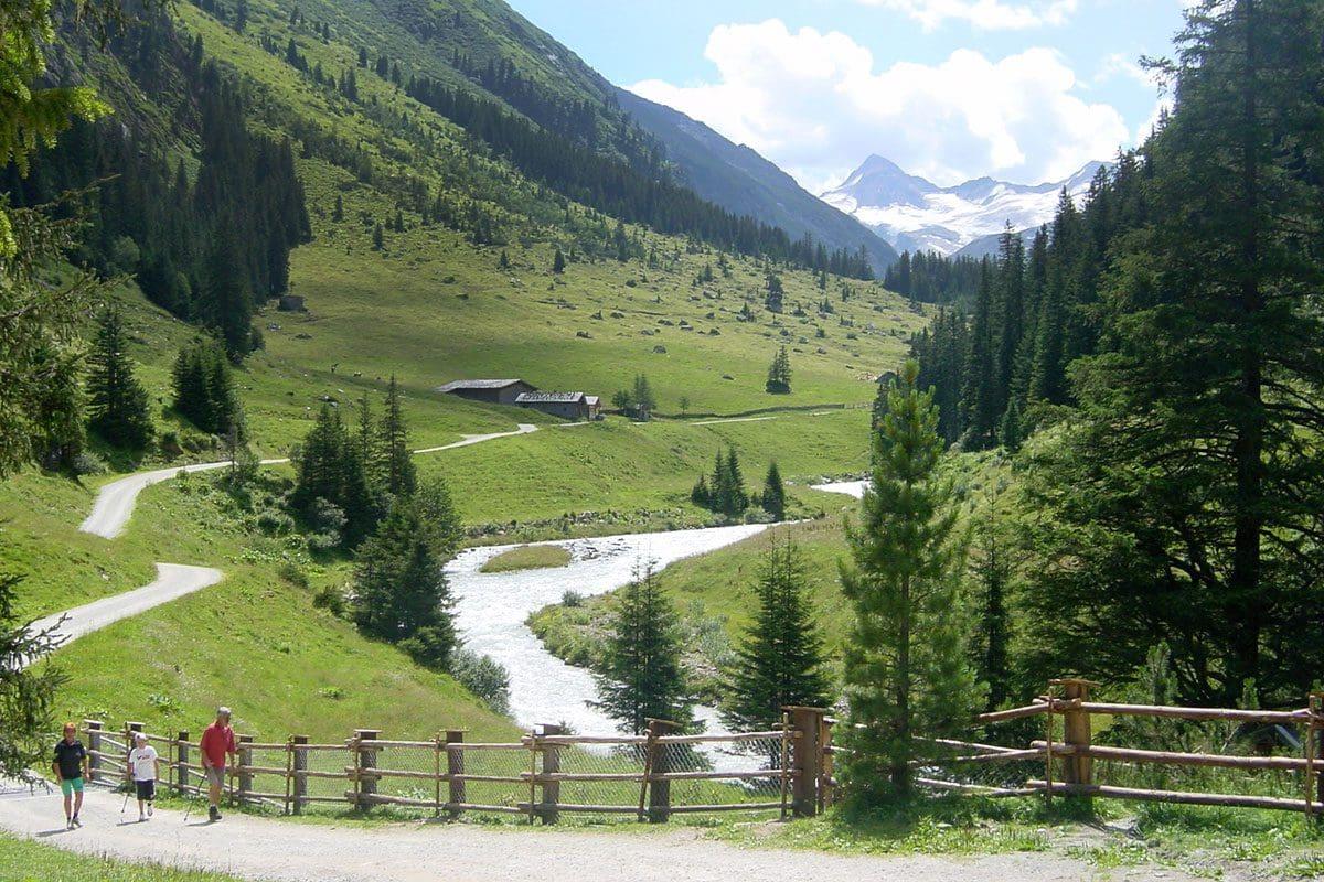 Wanderung Obersulzbachtal 1