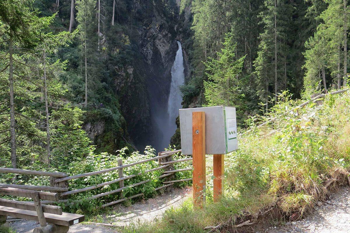 Wanderung Untersulzbachwasserfall 1