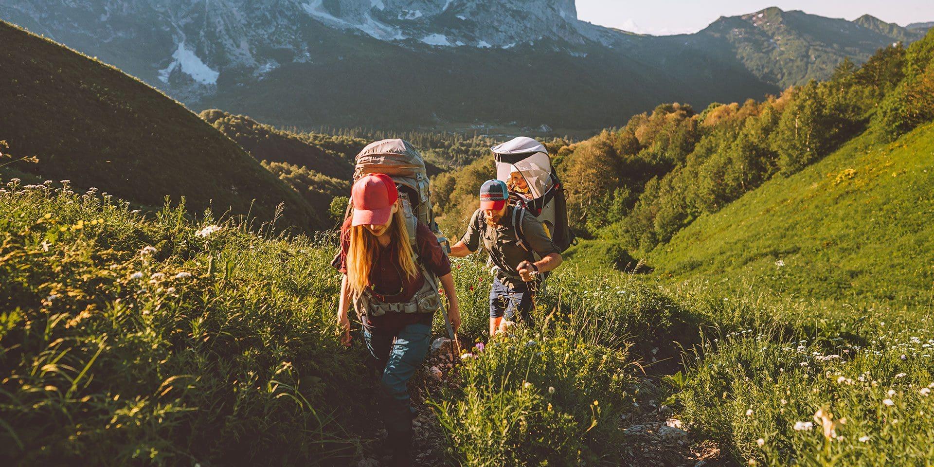 Wanderurlaub in Salzburg, Österreich