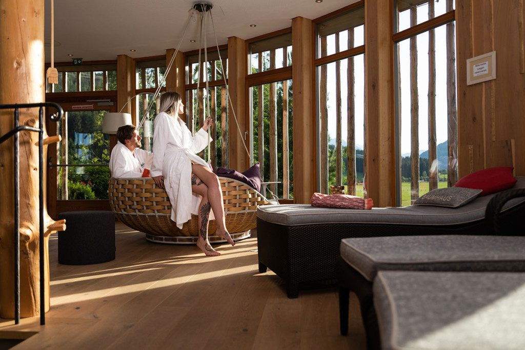 Wellness im Wanderhotel Kirchner, Bramberg/Wildkogel