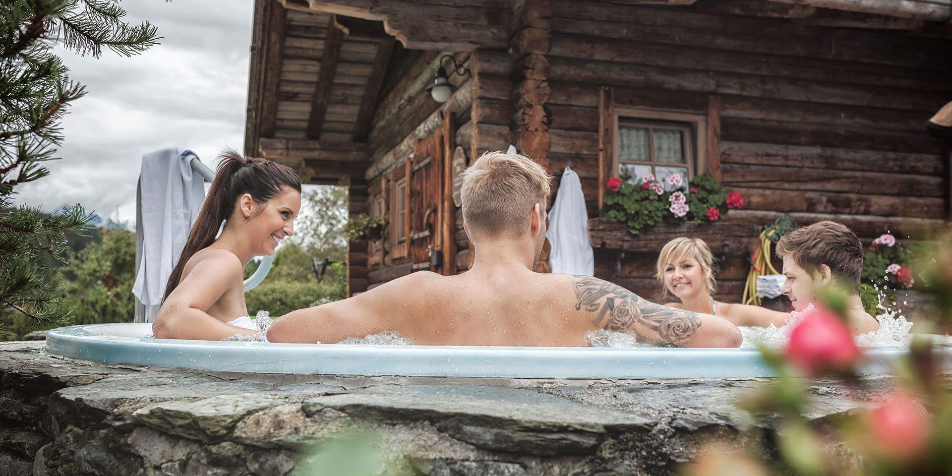 Whirpool · Inklusivleistungen im Wanderhotel Kirchner, Kitzbüheler Alpen