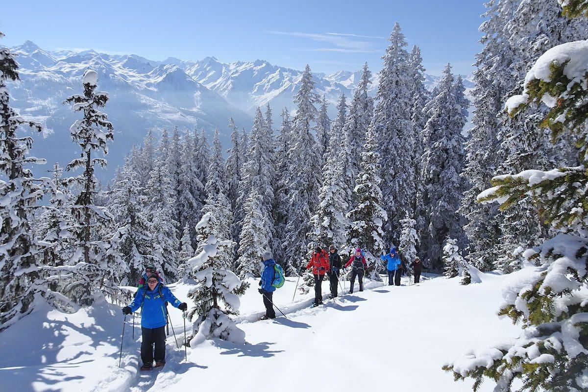 Geführte Schneeschuhtour · Inklusivleistungen im Wanderhotel Kirchner, Kitzbüheler Alpen